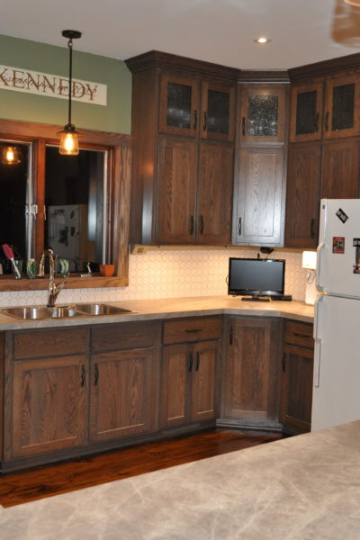 From Dated to Rustic Modern: Kitchen Remodel