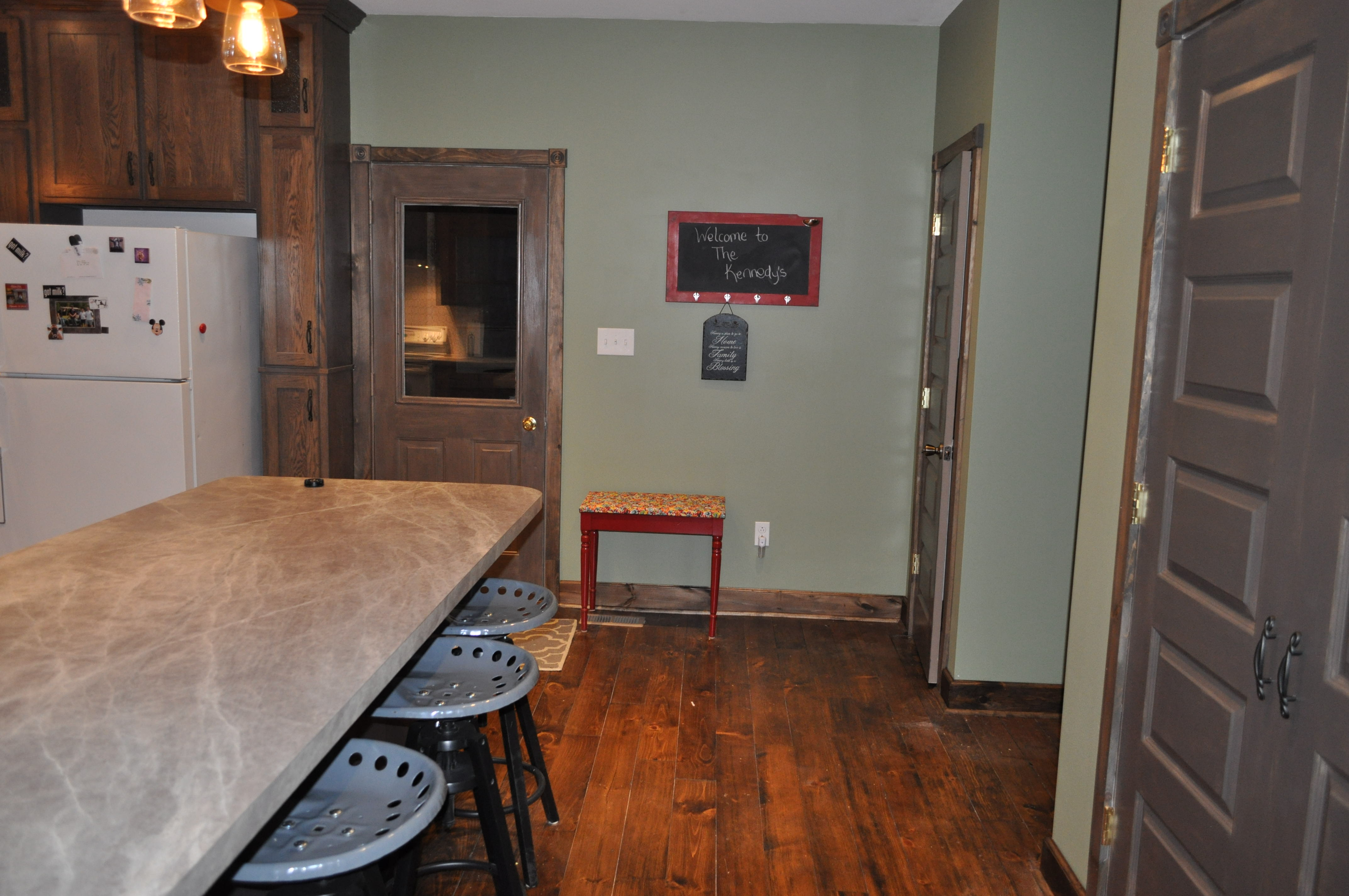 From Dated To Rustic Modern Kitchen Remodel.
