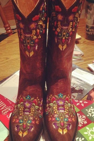 A Girl and Her Boots…. It's a Relationship Guys