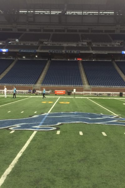 Fuel Up To Play 60 Rally for School Health at Ford Field