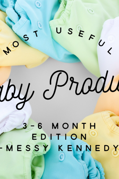 Most Useful Baby Products: 3-6 Month Edition