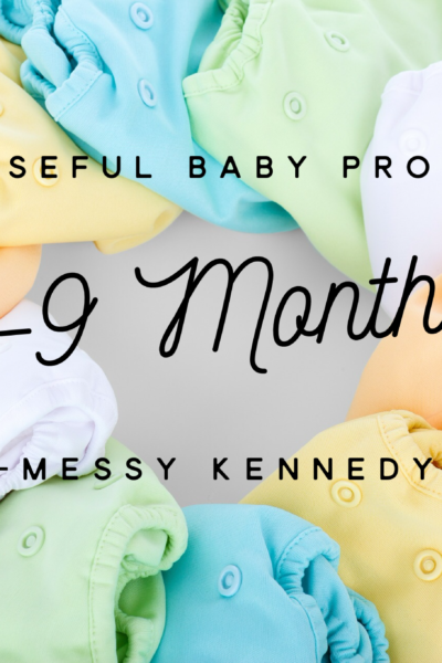 Most Useful Baby Products: 6-9 months