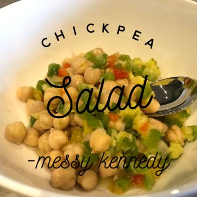 Chickpea Salad – Healthy Substitute for Pasta Salad