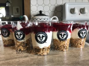 Delicious yogurt parfaits for World Milk Day.